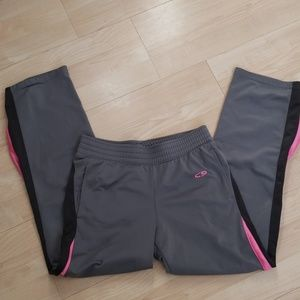 Your pink gray Champion Active wear pants 12-14